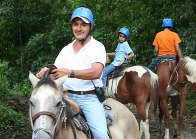 Horseback Riding to La Fortuna Waterfall 2