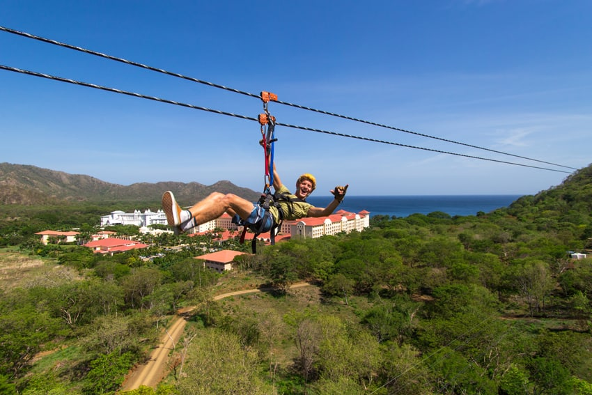 Zip-Line Costa Rica Highlights before the World Tourism Organization